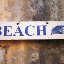 Direction la plage, souvenir de SF