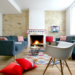 Salon avec cheminée - Photos www.habitat-mag.fr