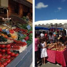 Le marché d'Ars est célèbre dans toute l'île. L'été c'est tous les matins.