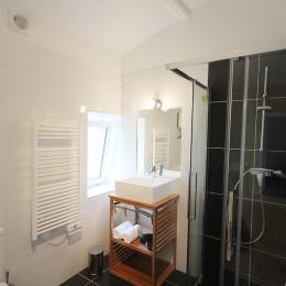 Salle de bain du premier étage de la maison Ispagne